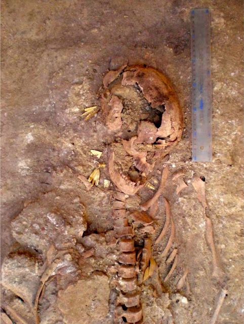 Grave of Scythian 'princess' found at the Ust-Alminsky site in Crimea