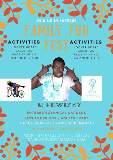 Entebbe Family Fun Festival - May 13, 2018