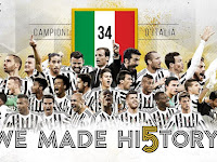 PES 2016 Juventus 34 Scudetto Start Screen