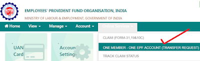 One Member One EPF Account facility allows EPF members to merge their multiple EPF accounts with their current UAN (Universal Account Number).