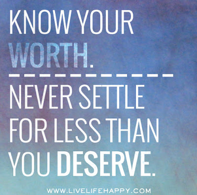 Never Settle for Anything Less!