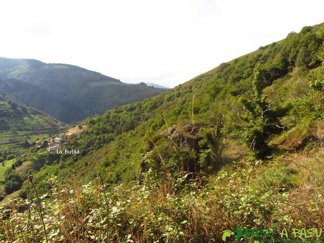 Vista de La Bubia en Cangas del Narcea