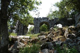 Ruinas de Termessos.