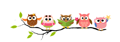 Image result for owl reading clipart