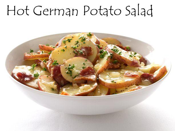 Savory Moments: Hot German potato salad  German Hot Dish