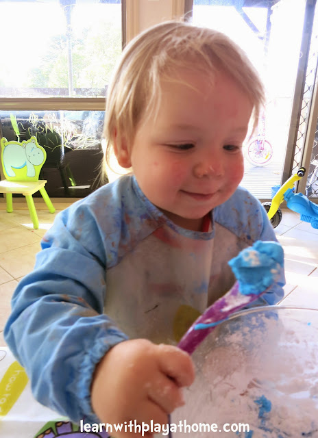 how to make slime with cornflour