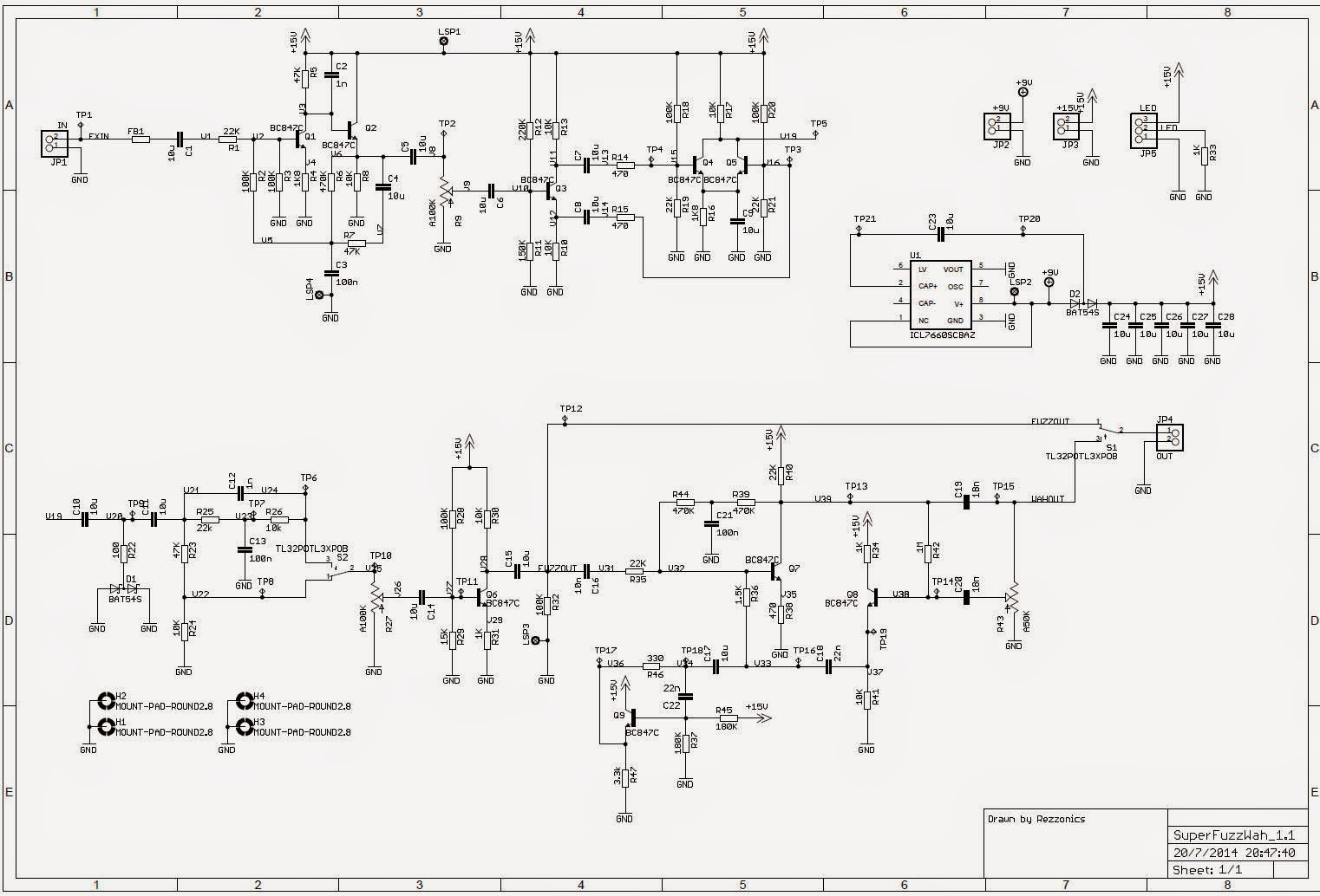 rezzonics: shin-ei fuzz-wah - univox/unicord super fuzz ... ford f 450 super duty engine wiring schematic univox super fuzz schematic #6