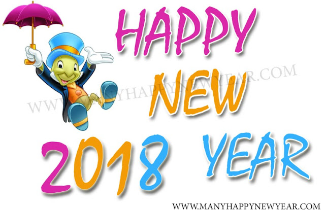 2018 new year funny images cartoons emoticon for whatsapp and facebook