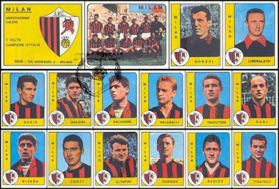 Calciatori panini milan 1961/62