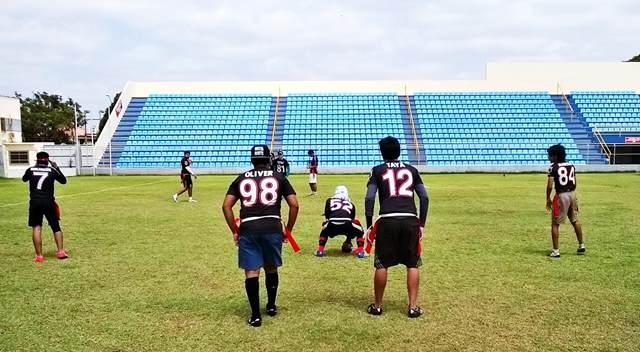Dragons querem consolidar futebol americano