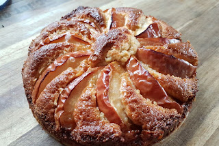 Apfel-Karamel-Kuchen