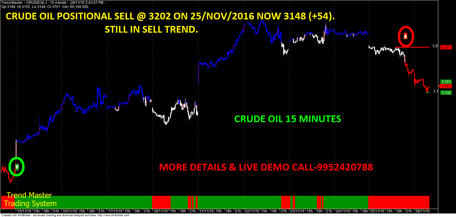 Crude oil option trading