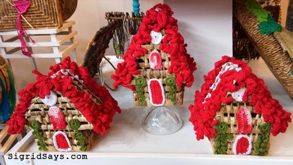 Christmas village by Vivo Handmade Crafts - Negros Showroom