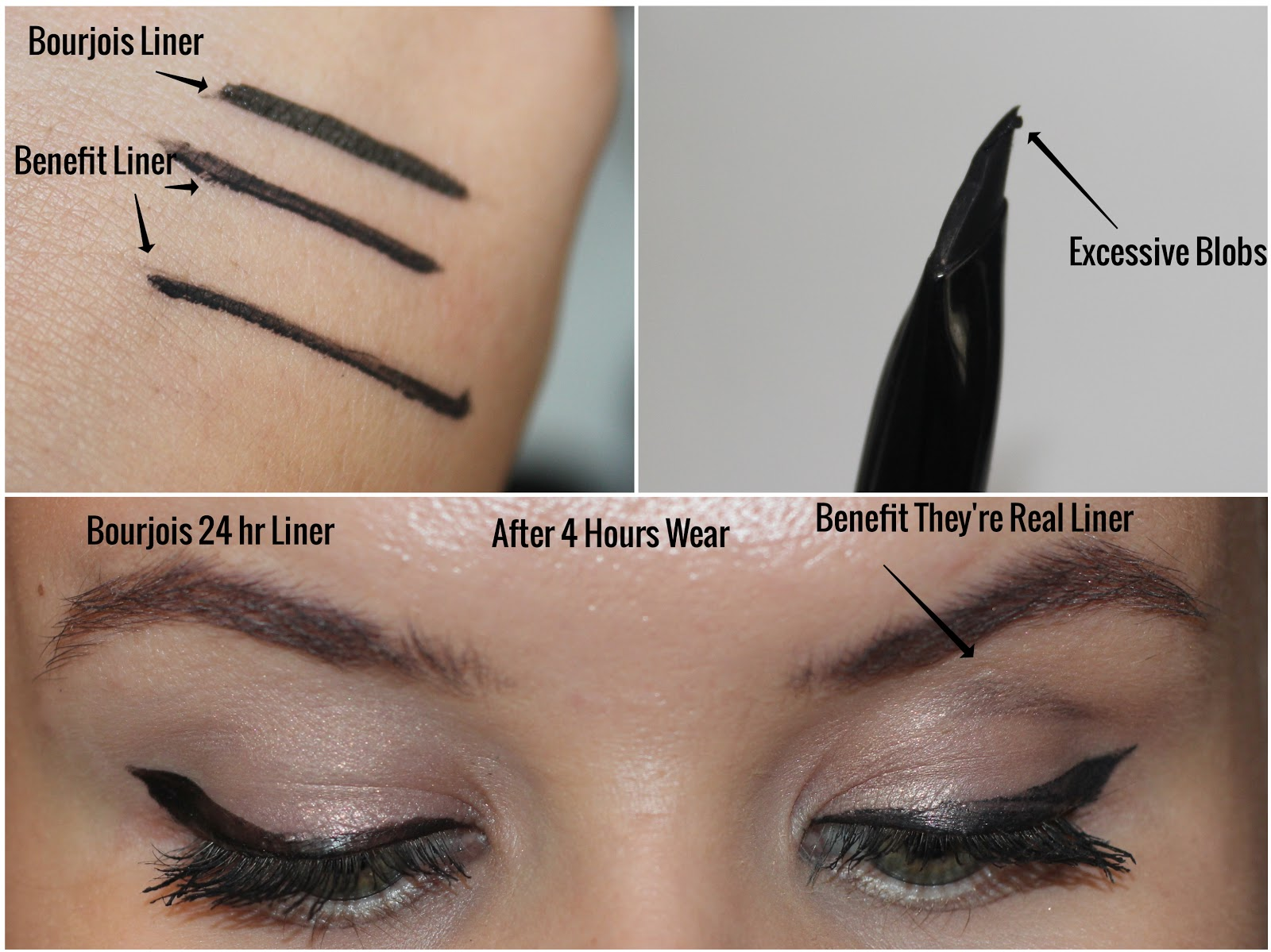 f898d7c25e8 Obsessed By Beauty: REVIEW: Benefit They're Real Push-Up Liner