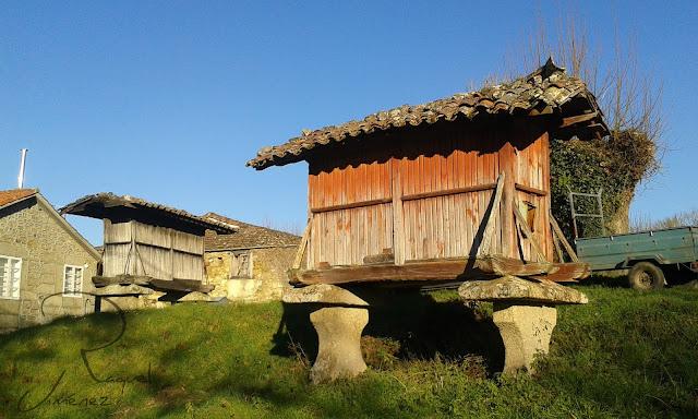 hórreos en galicia