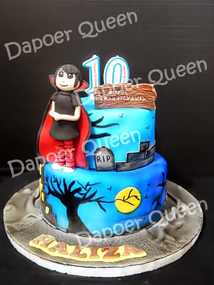 Dapoer Queen Hotel Transylvania Birthday Cake