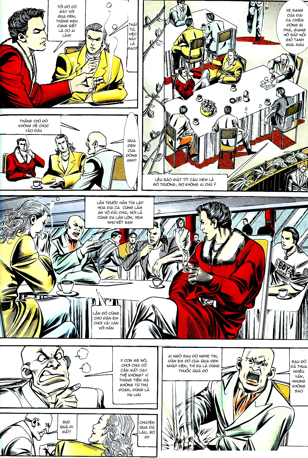 Người Trong Giang Hồ chapter 153: xích mích trang 19