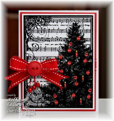 Stamps - Our Daily Bread Designs Christmas Tree Collage