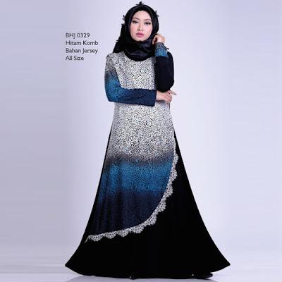 Baju Gamis Wanita Gareu BHJ 0329