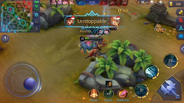 Gameplay Lapu-lapu Mobile Legends
