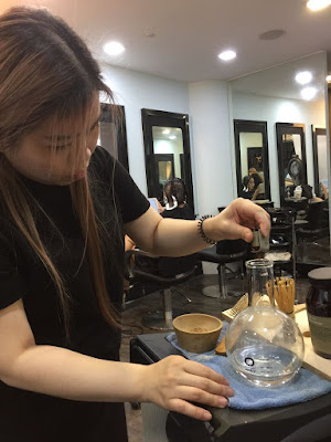 Oway blend anti-oxidant focus hairdressing chinatown by Sweet BunnySingapore's Lifestyle, Hair & Beauty Blogger