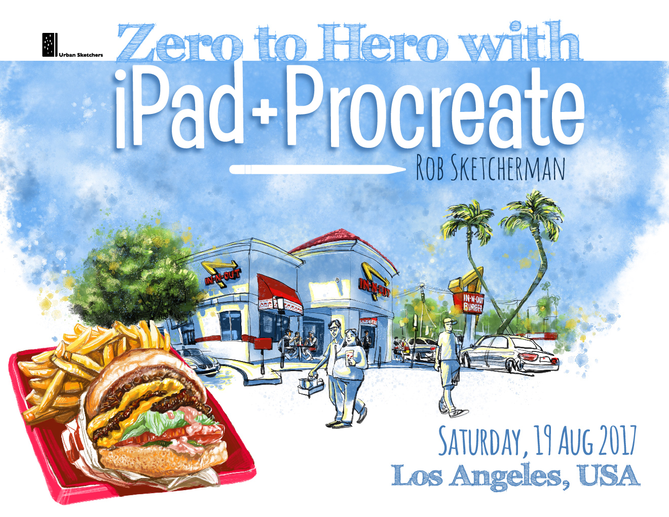 Zero to Hero with iPad+Procreate in Los Angeles, CA -USA | Urban ...