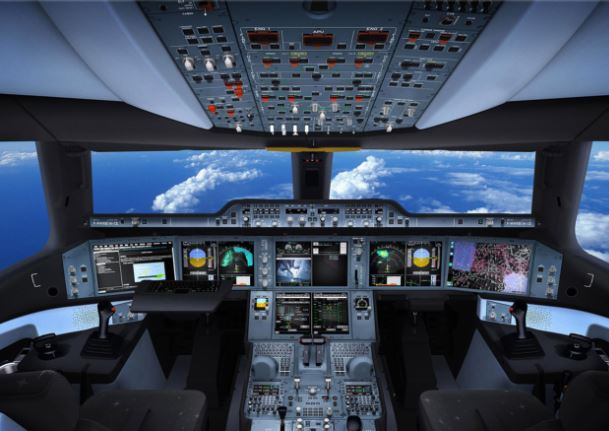 Airbus A350-1000 XWB cockpit