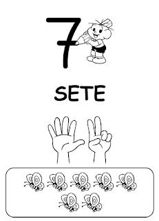 Alfabetizando com a turma da monica numerais