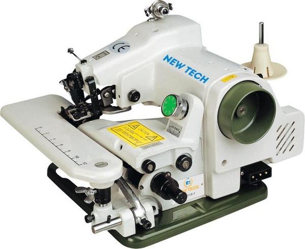Blind stitching machine