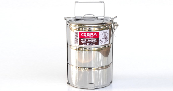 Tiffin Tin Stainless Steel Food Carrier