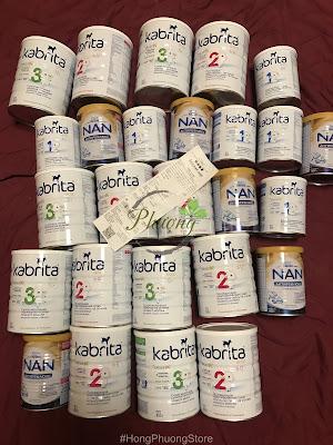 Bán sữa NAN Nga xách tay chính hãng, kem dưỡng cho bé, thuốc anaferon chính hãng [Clip lấy hàng cho khách]