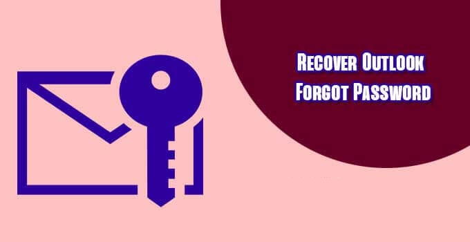 Recover Outlook Password