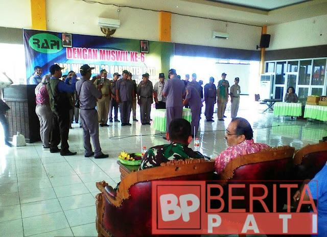 Pengurus RAPI Kabupaten Pati 2017- 2021 Resmi Dilantik