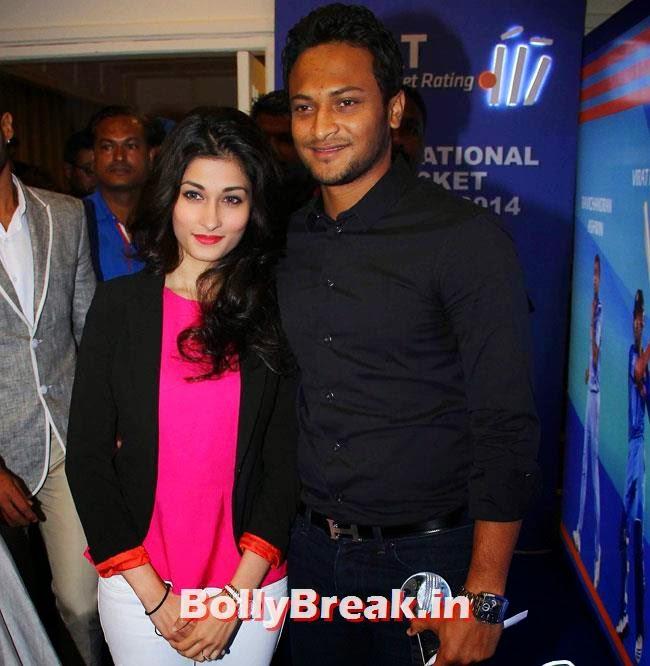 Shakib Al Hasan, Chitrangada Singh performed at CEAT Cricket Ratings Awards 2014