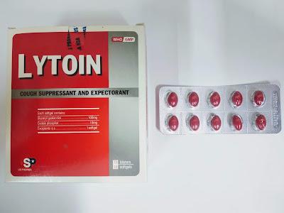 Thuốc ho Lytoin