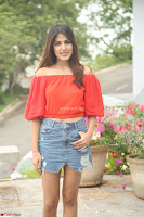 Rhea Chakraborty in Red Crop Top and Denim Shorts Spicy Pics ~  Exclusive 267.JPG