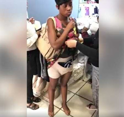 36-year-old Woman Stripped for Stealing Clothes and Hiding It in Her 'Pant' in Lagos State