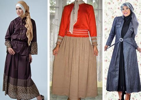 model baju gamis muslim orang gemuk