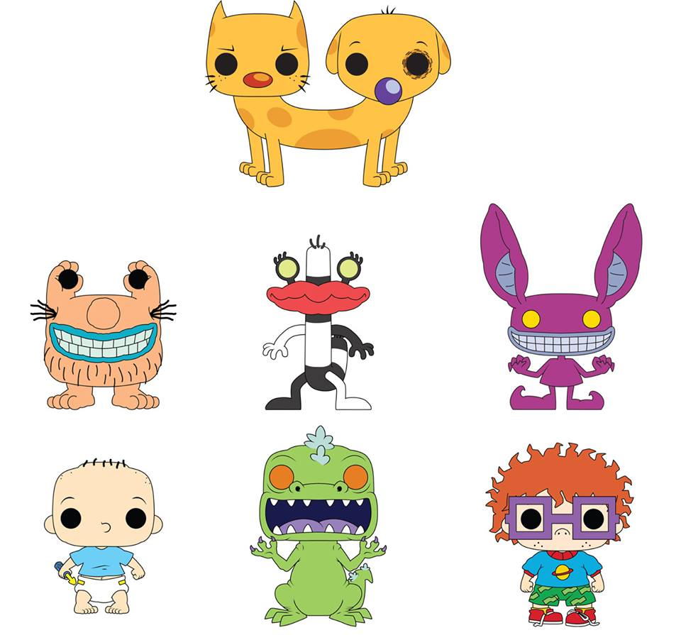Nickalive Funko Unveils First Look At New 90s