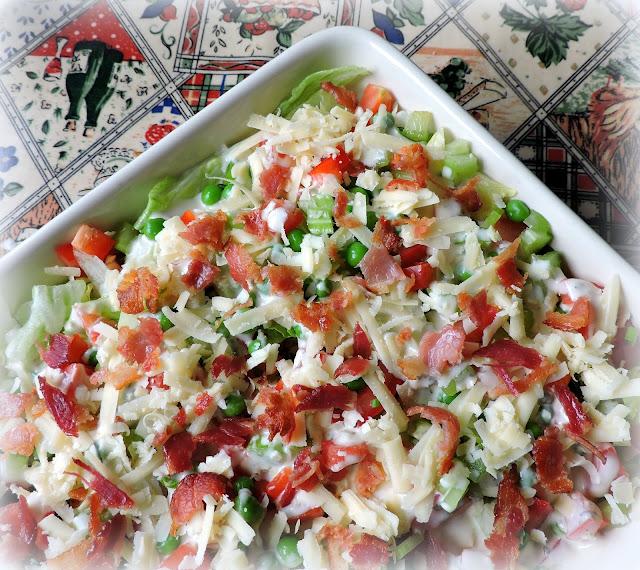 Cake Pan Salad