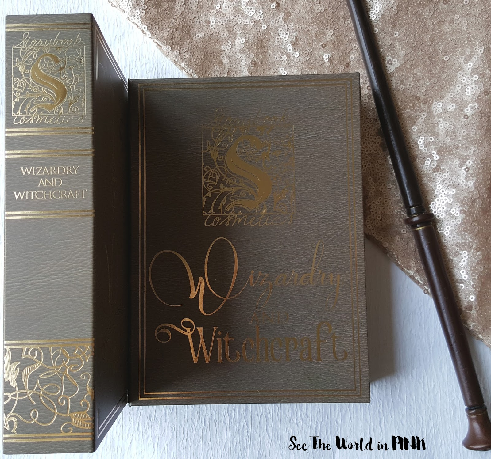 Storybook Cosmetics Witchcraft and Wizardry Palette - Swatches, Review and 4 Back to Hogwarts Looks!