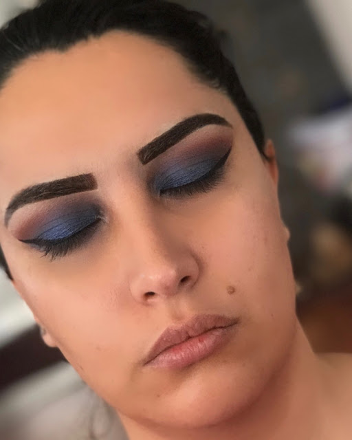 Makeup with my M.A.C Refill Palette