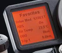 KTM 1290 Super Duke R ABS: Ride-Mode