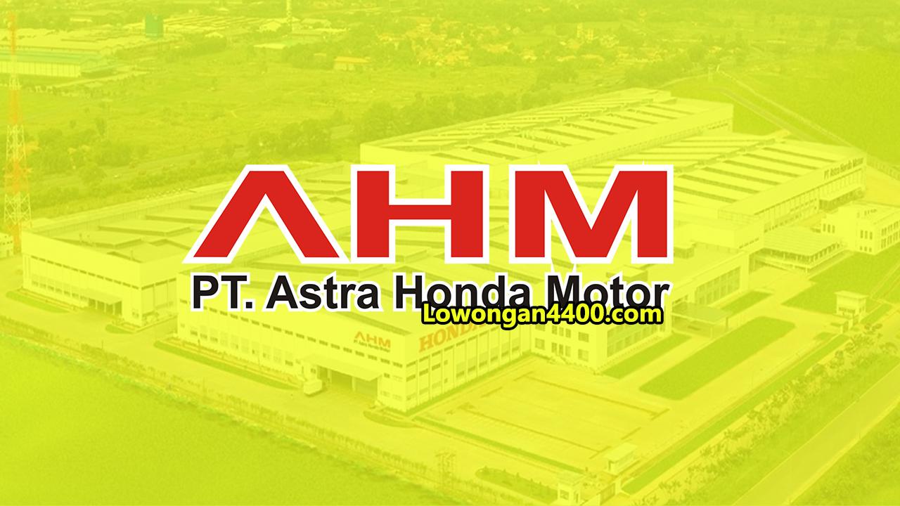 Operator Produksi PT. Astra Honda Motor