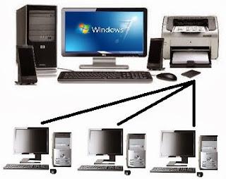 gambar cara sharing printer windows 7 2