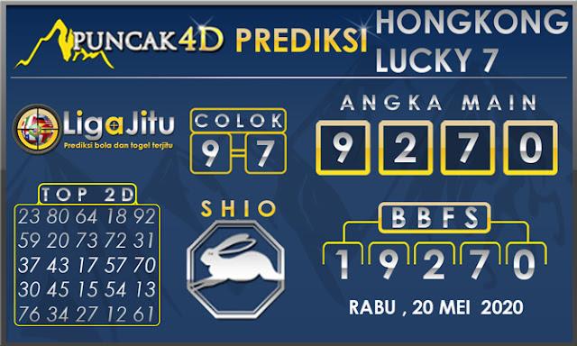 PREDIKSI TOGEL HONGKONG LUCKY 7 PUNCAK4D 20 MEI 2020