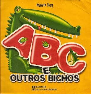 Livro didático: ABC e outros bichos - Mario Bag