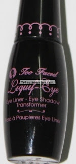 Too Faced Cosmetics Liquif-Eye shadow collection swatches, review and photos