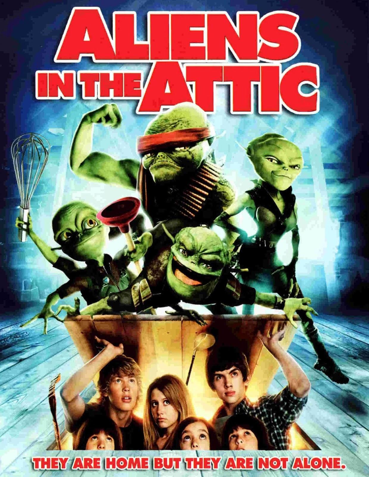 Aliens in the Attic [2009] [DVDR] [NTSC] [Latino]