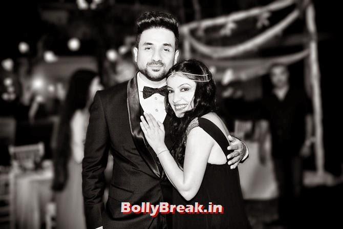 Vir Das with Shivani Mathur , Vir Das marries longtime girlfriend Shivani Mathur